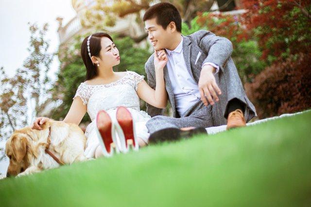 Mr.於 & Mr.郑的婚纱照