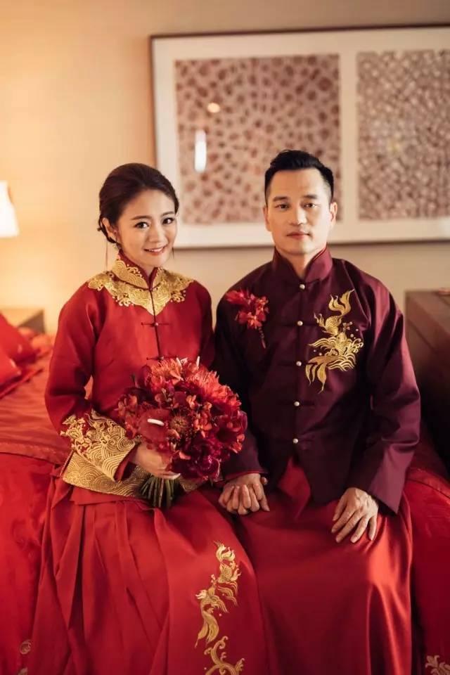 盘点|那些年那些明星们的复古中国风礼服|保定古装婚纱摄影