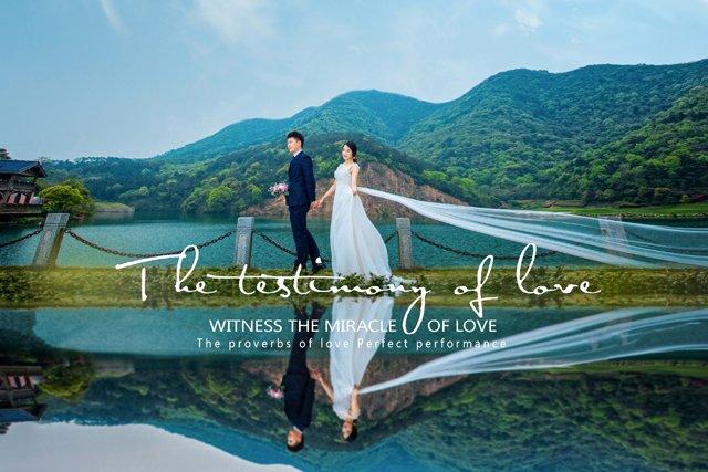 Mr.章 & Mr.姜的婚纱照