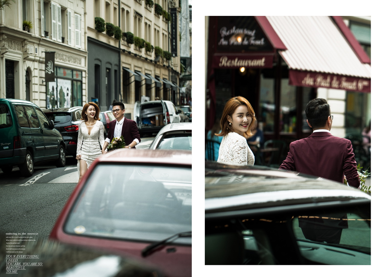 柒城影像法国旅拍婚纱照