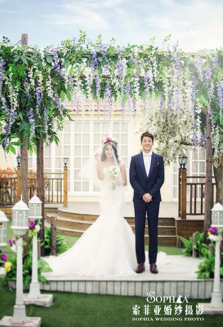 空中花园-蓝调婚礼