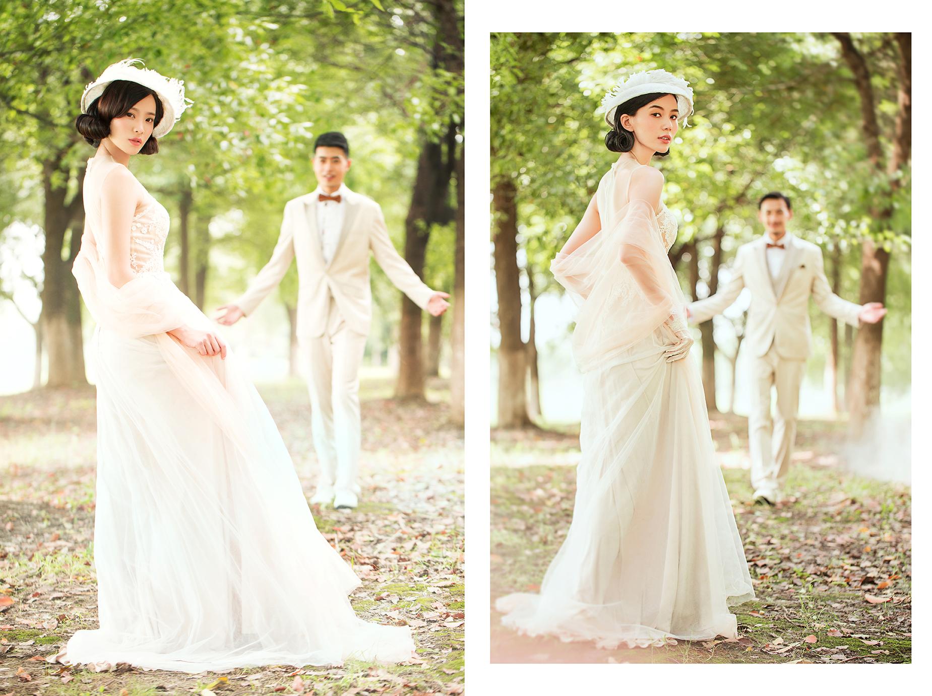 婚纱照作品图片