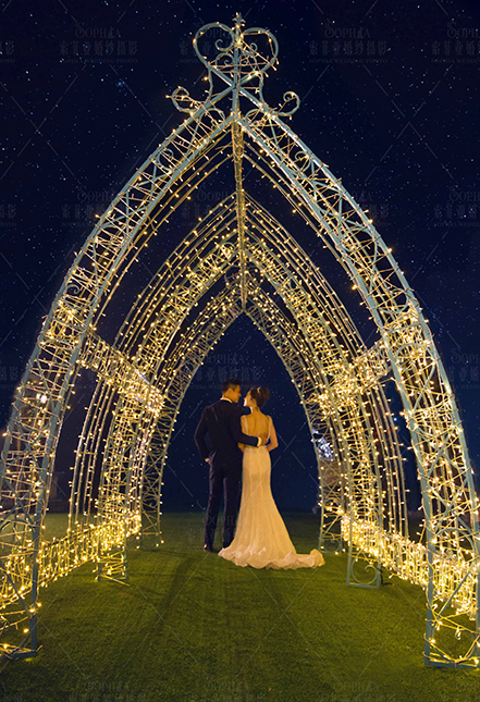 璀璨夜景-星光教堂