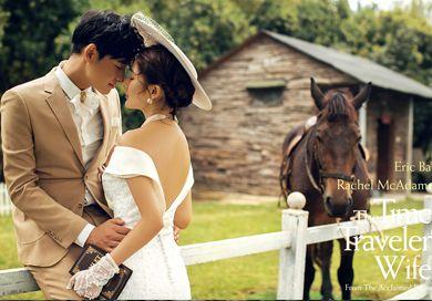 短发拍婚纱照怎么样才好看--塞纳皇宫婚纱摄影