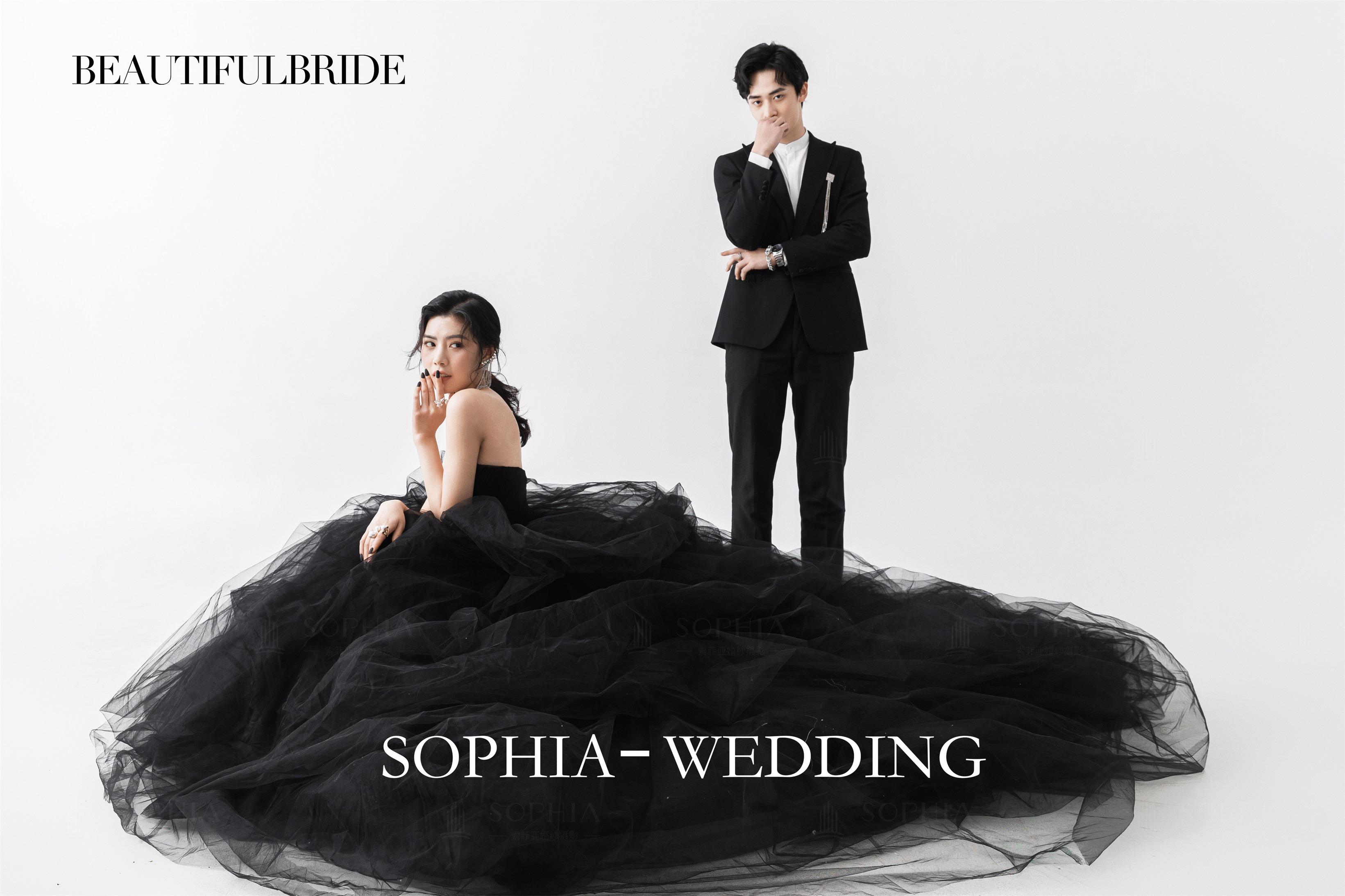 索菲亚婚纱摄影客片
