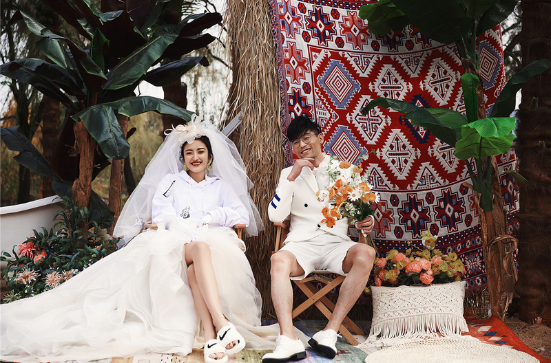 【电影级摄影化妆手法】早春新品Tropical fashion