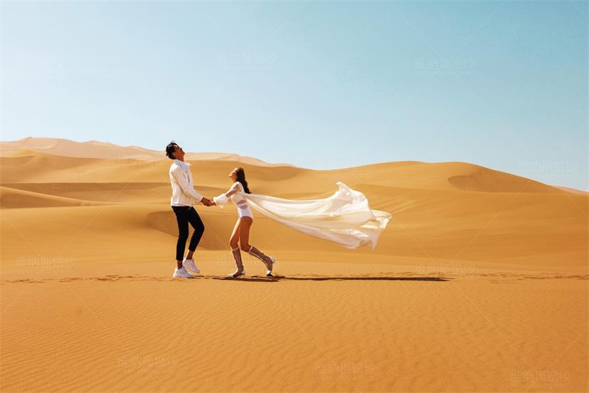 维纳斯旅拍-浩瀚沙漠